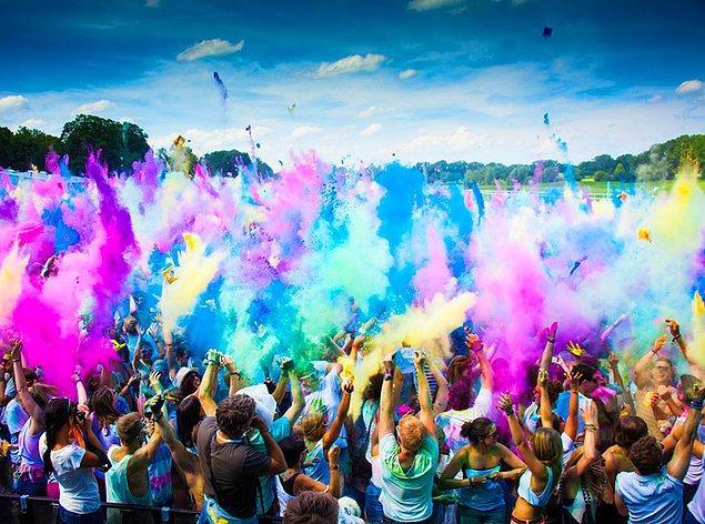 6. Color Festival