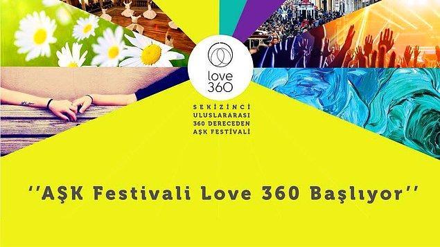 9. 360 Dereceden Aşk Festivali