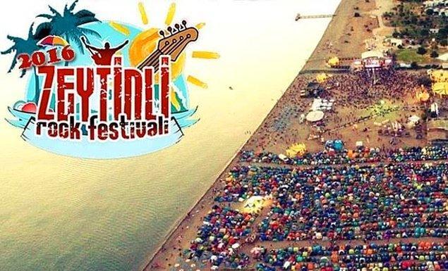 2. Zeytinli Rock Festivali 2016