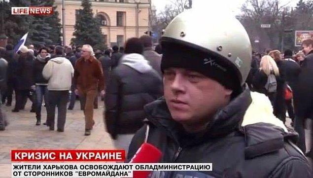 Протестующий из Украины: