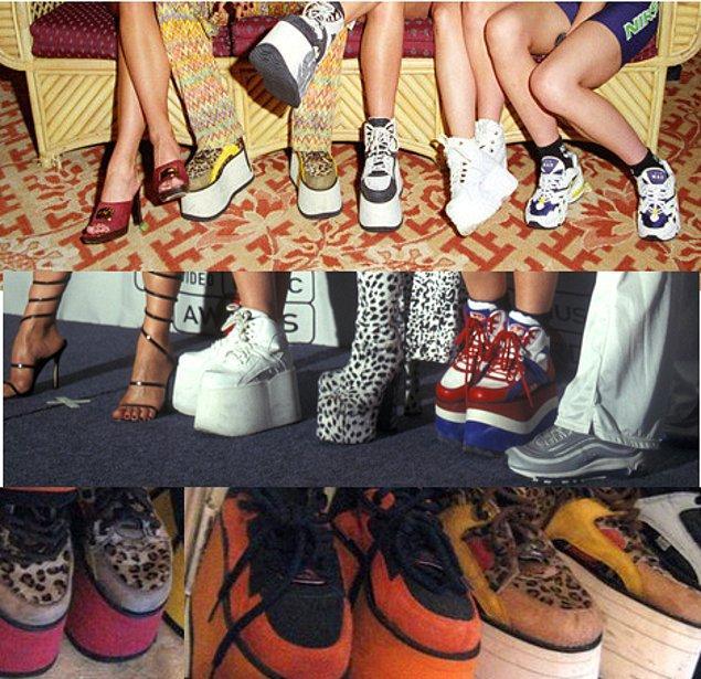 Spice Girls Ayakkabıları