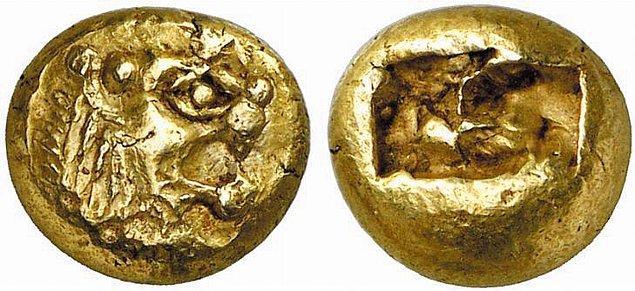 1. İlk madeni para M.Ö. 7. yüzyılda Anadolu'da yaşamış zengin bir halk olan Lidyalılar tarafından kullanılmıştır.