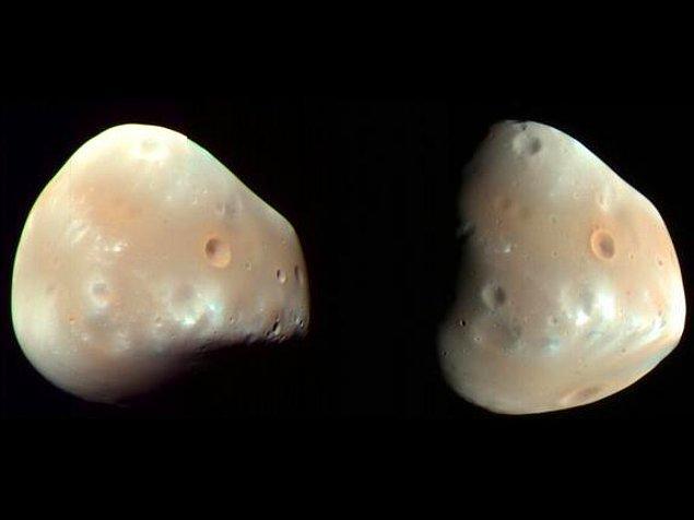 14. Mars'ın uydusu Deimos