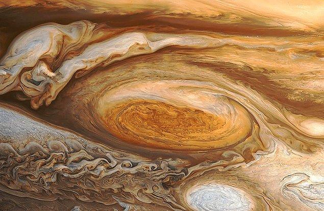 18. Jüpiter'in Büyük Kırmızı Lekesi