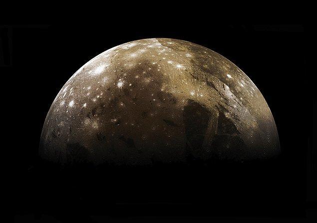 19. Jüpiter'in uydusu Ganymede