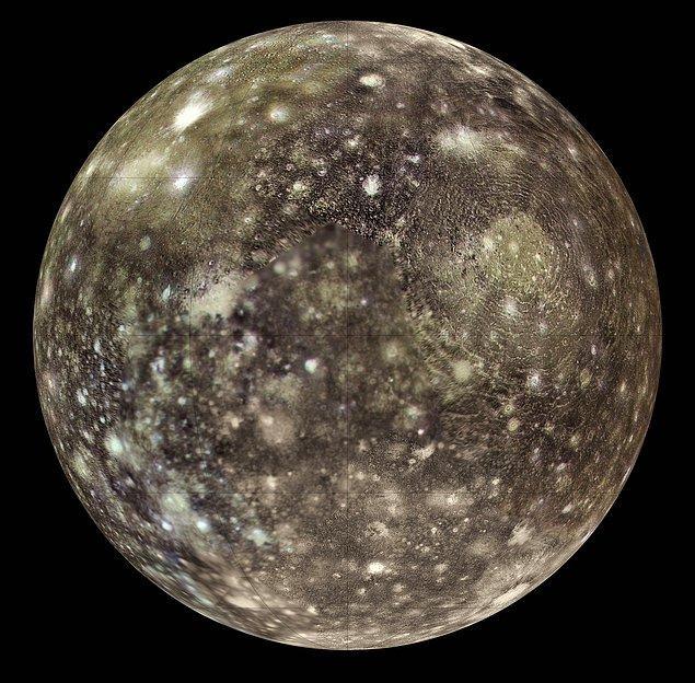 20. Diğer uydusu Callisto