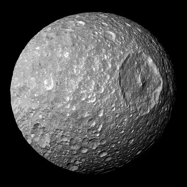 26. Satürn uydusu Mimas