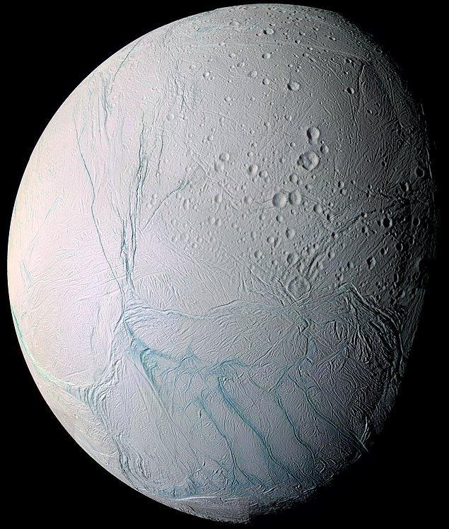 27. Satürn uydusu Enceladus