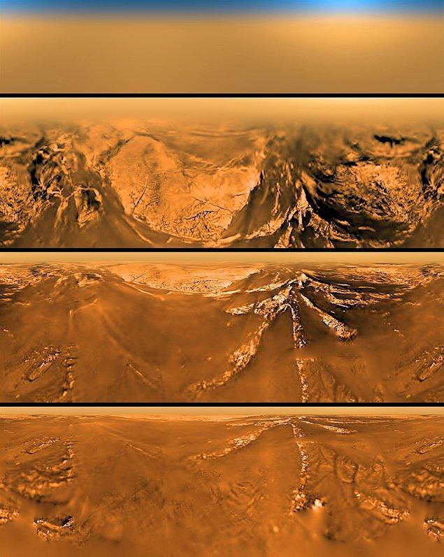 33. Titan'ın yüzeyi