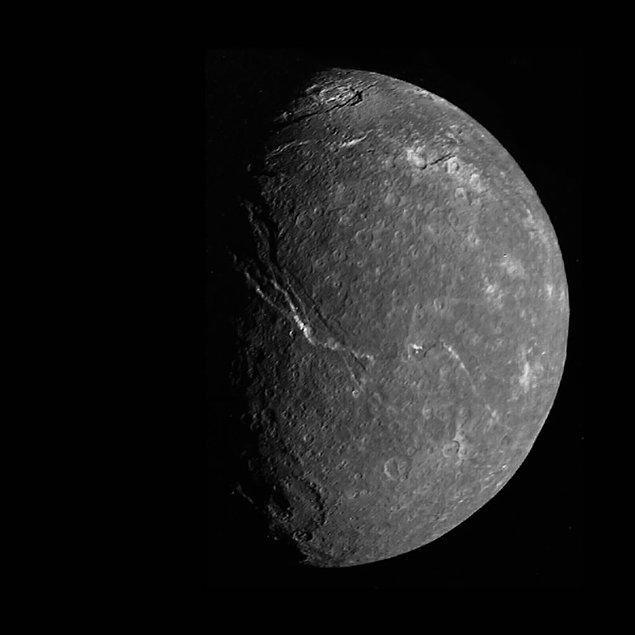 39. Uranüs uydusu Titania