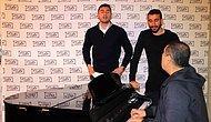 Burak Yılmaz ve Mehmet Topal'dan Fani Dünya Performansı