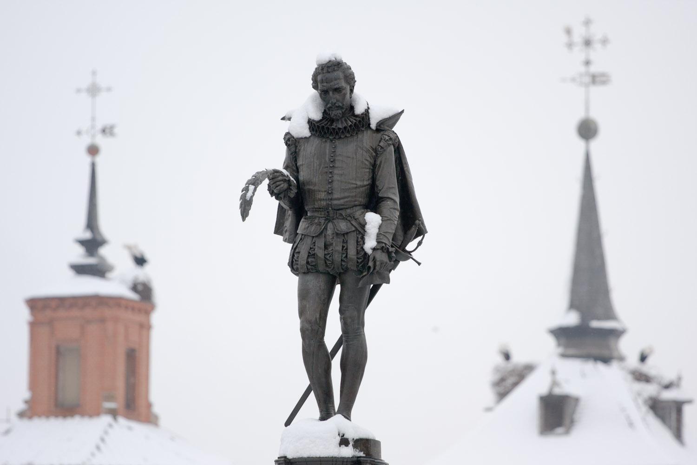Cervantes l m n n 400 y l nda ankara 39 da - Pintores alcala de henares ...