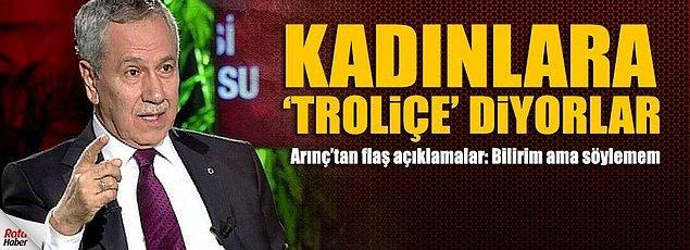 En çok Hilal Kaplan'a atfen kullandığı ''trolliçe'' sözü konuşuldu.