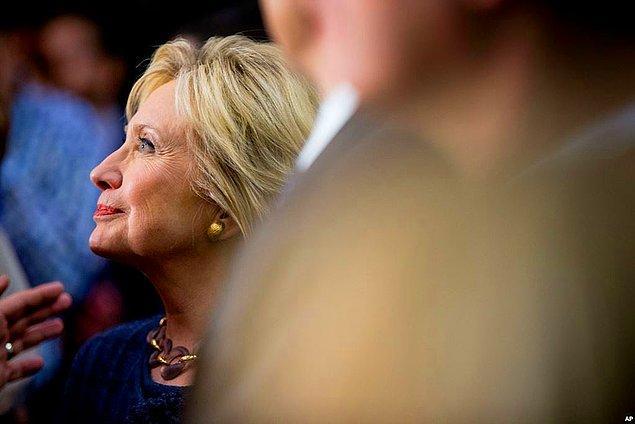 Clinton yüzde 49.8 oy alarak ipi göğüsledi