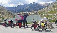 43 Fotoğrafla Bebekleriyle Birlikte Bisikletle 19 Ülkeyi Gezerek Keşfeden Türk Aile