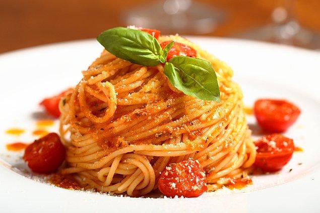 2. Pasta Con Pomodoro E Basilico