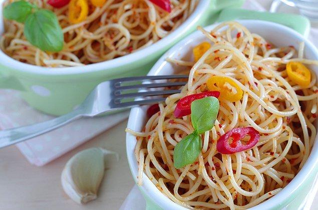 4. Spaghetti Aglio, Olio e Peperoncino
