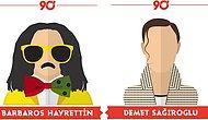 90'lar Türk Pop Müziğine Damga Vuran Şarkıcılar İçin Yapılmış 16 Enfes İllüstrasyon