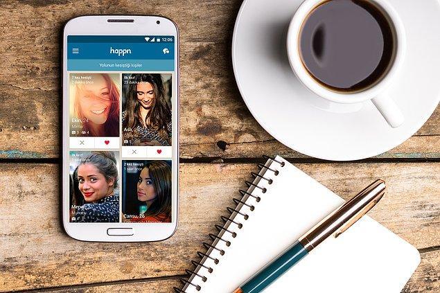 Happn'ı iOS, Android ve Windows Phone için ücretsiz indir!