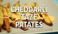 Dışarıda Yediğimiz Enfes Cheddar Sosu Patatesle Birleştirdik Enfes Oldu!