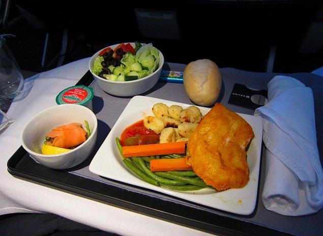 First class yemeği görünce akıllarda tek bir soru: