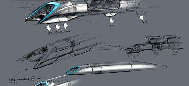 Yeni nesil ulaşım aracı olan Hyperloop'un çalışma mantığı, Concorde marka uçak, Railgun tipi silah ve Air Hockey masası ile benzerlik gösteriyor.