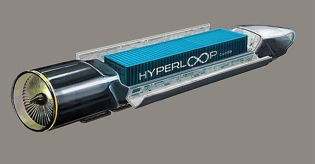 Hyperloop en kısa haliyle, alüminyum boruların içerisine özel vagonlar yerleştirilerek insan ve araç taşınmasını öngörüyor.