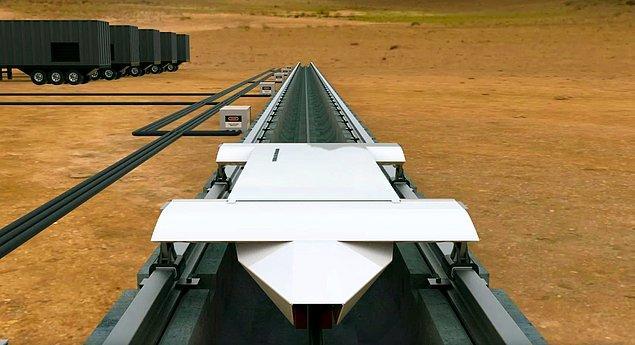 Toplu taşımacılığın hızını ve güvenliğini baştan sona değiştirecek olan Hyperloop projesi gerçekleşirse, Ankara - İstanbul arası gibi bir mesafe 25 dakikada alınabilecek.