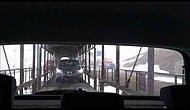 İsviçre'nin Arabalı Trenleriyle Alp Dağlarını Geçmek (Vagon İçinden Çekim)