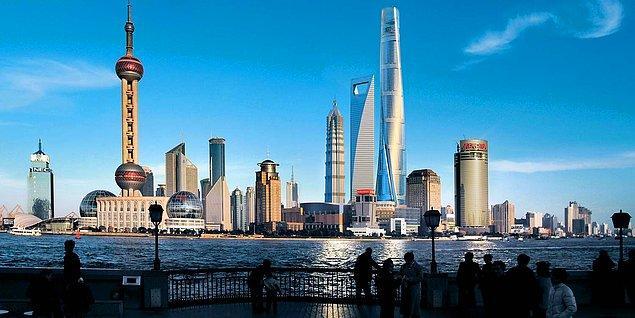 6. Adeta 2100 yılından bir kent: Şangay