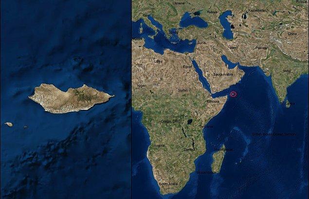 1. Sokotra Adası