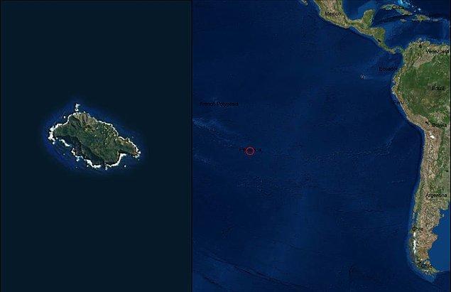 4. Pitcairn Adaları