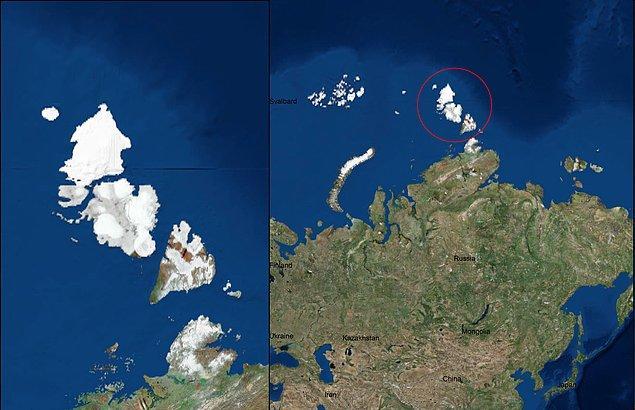 5. Severnaya Zemlya (Kuzey Arsa) Adası