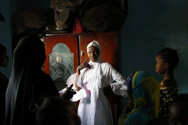 15. Mali'de bir gelin.