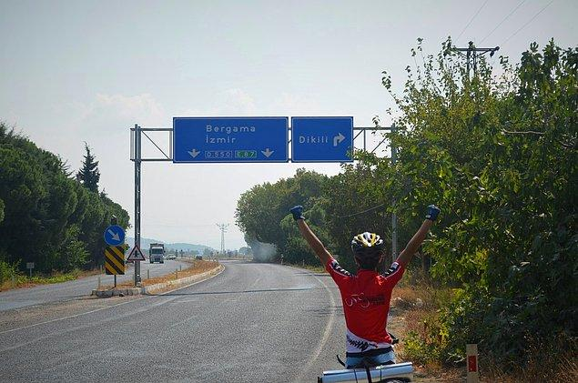 1. İlk Tur Edirne - İzmir arasında yapıldı.