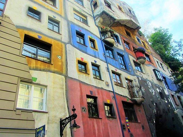 7. Avusturya - Hundertwasser Evi