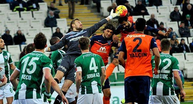 Bursaspor 3-3 Mepidol Başakşehir
