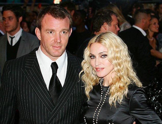 19. Madonna ve Guy Ritchie – 92 Milyon $