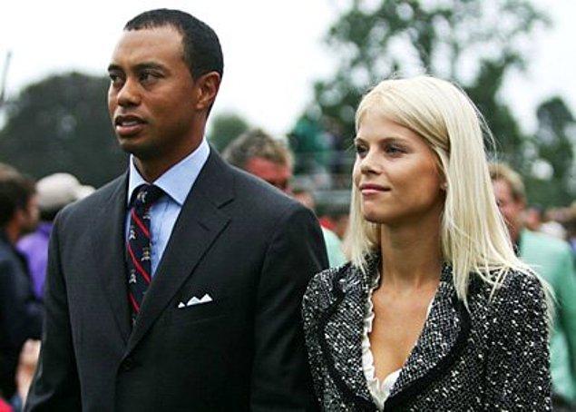16. Tiger Woods ve Elin Nordegren – 100 Milyon $