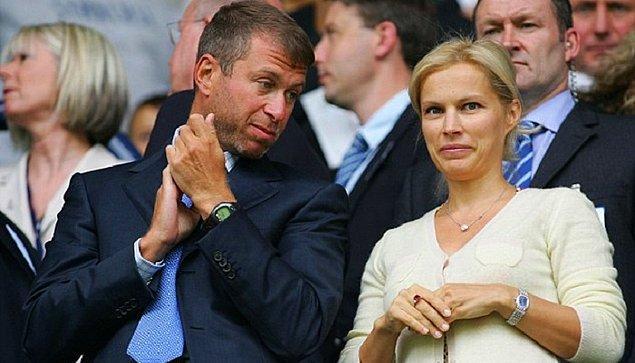 9. Roman Abramovich ve Irina Abramovich – 300 Milyon $