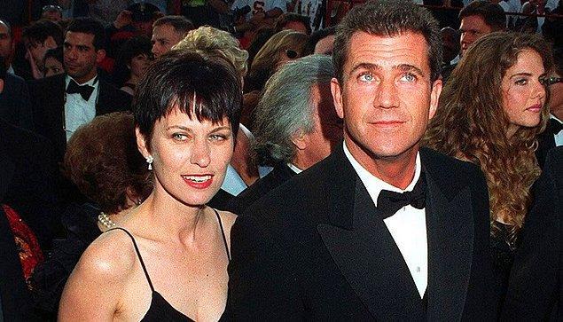 8. Mel Gibson ve Robyn Moore – 425 Milyon $