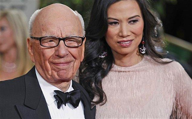 3. Rupert Murdoch ve Wendi Deng – 1.8 Milyar $