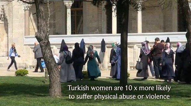 Videoda yer alan nedenlerin başlıklar şöyle: Kadınlara şiddet.