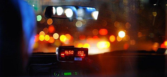 6. 200 Bin Kilometrelik Taksi Yolculuğu ile Dünyanın Etrafında 5 Kere Dolanabilirsin