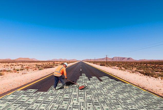 1. 1 Dolar Banknotlardan 26 Kilometre Yol Yapabilirsin