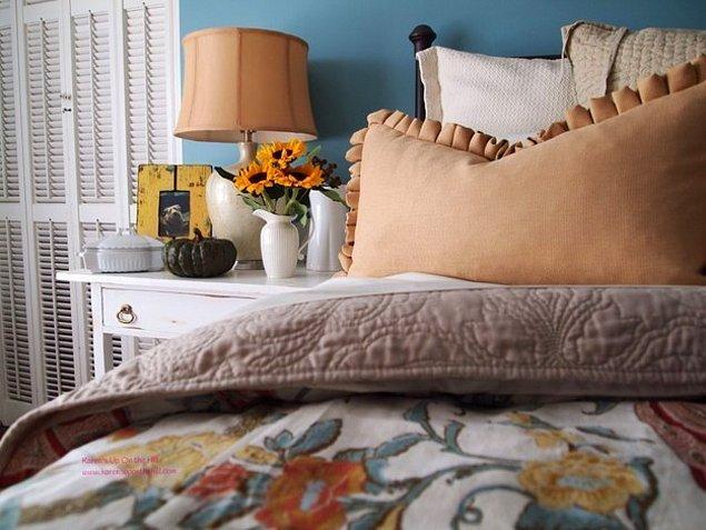 2. Yatağınızı kat kat düzenleyin