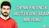 Emre Yılmaz CHP'nin Gençlik Örgütleri Genel Başkanı Seçildi
