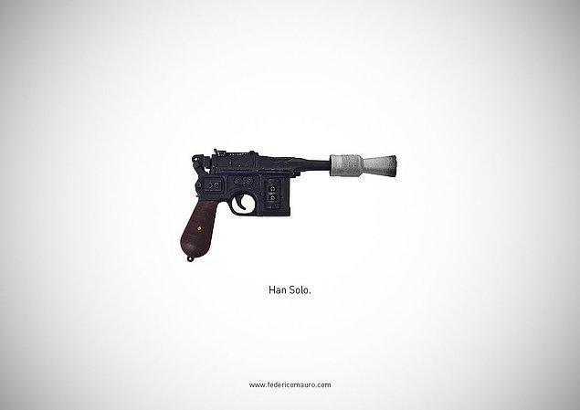 7. Star Wars - Han Solo