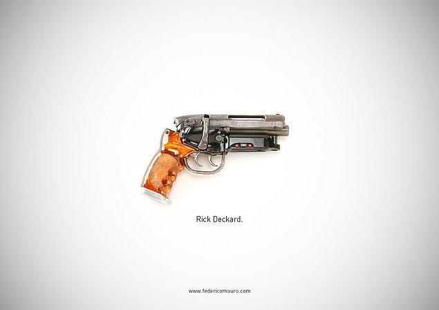 10. Blade Runner - Rick Deckard