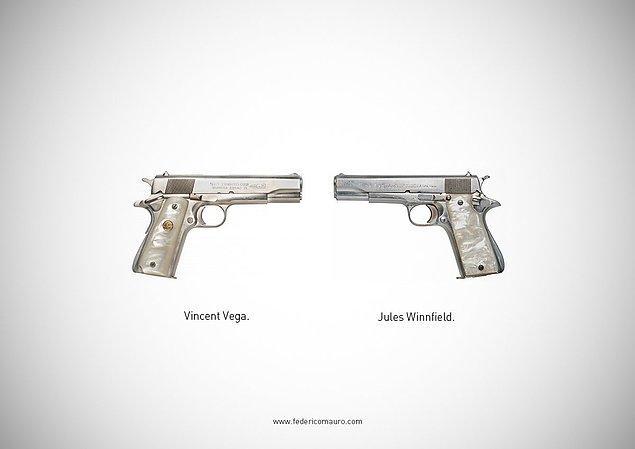 14. Pulp Fiction - Vincent Vega ve Jules Winnfield